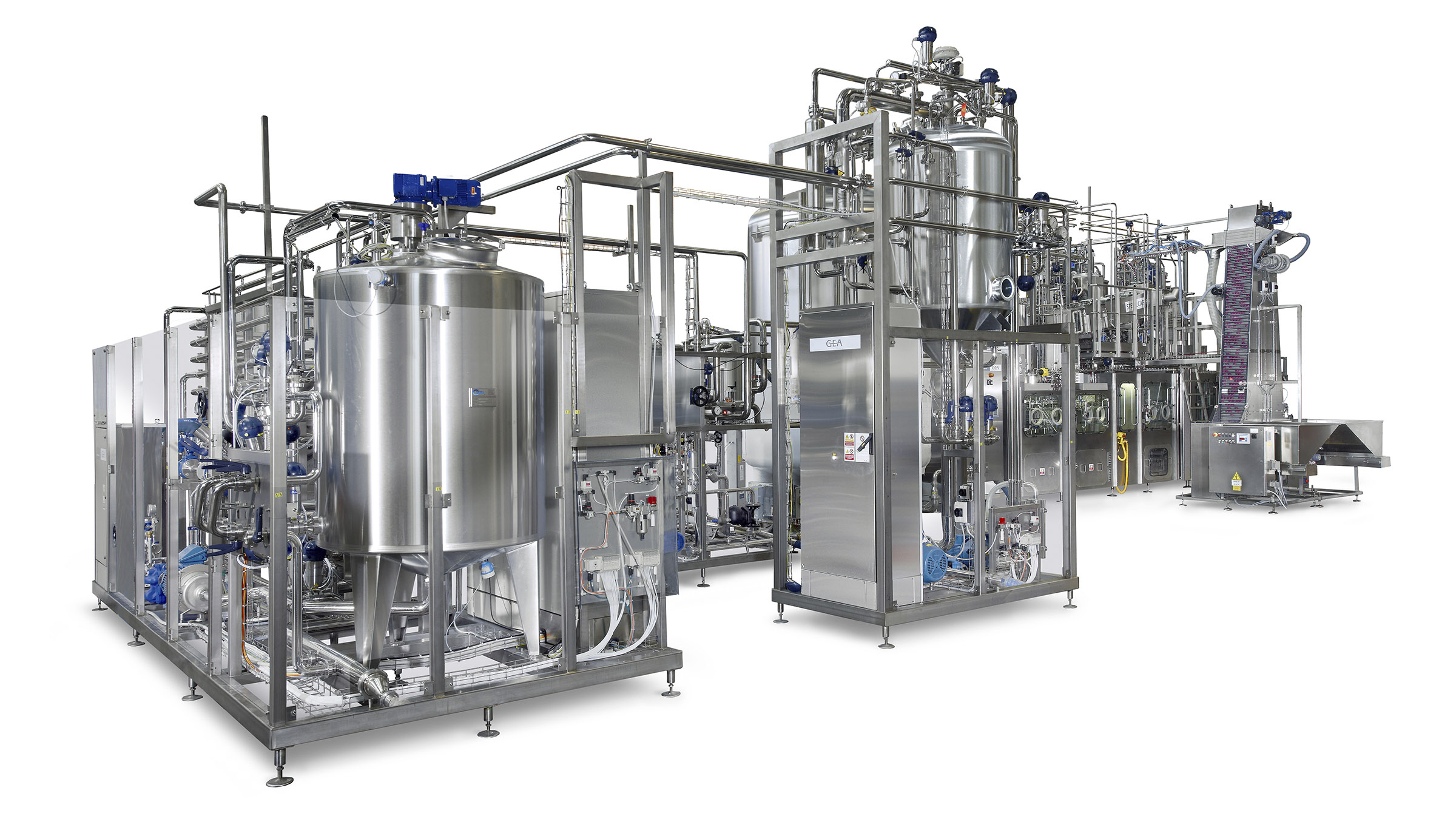 Product pasteurization is an important step in the whole aseptic process.