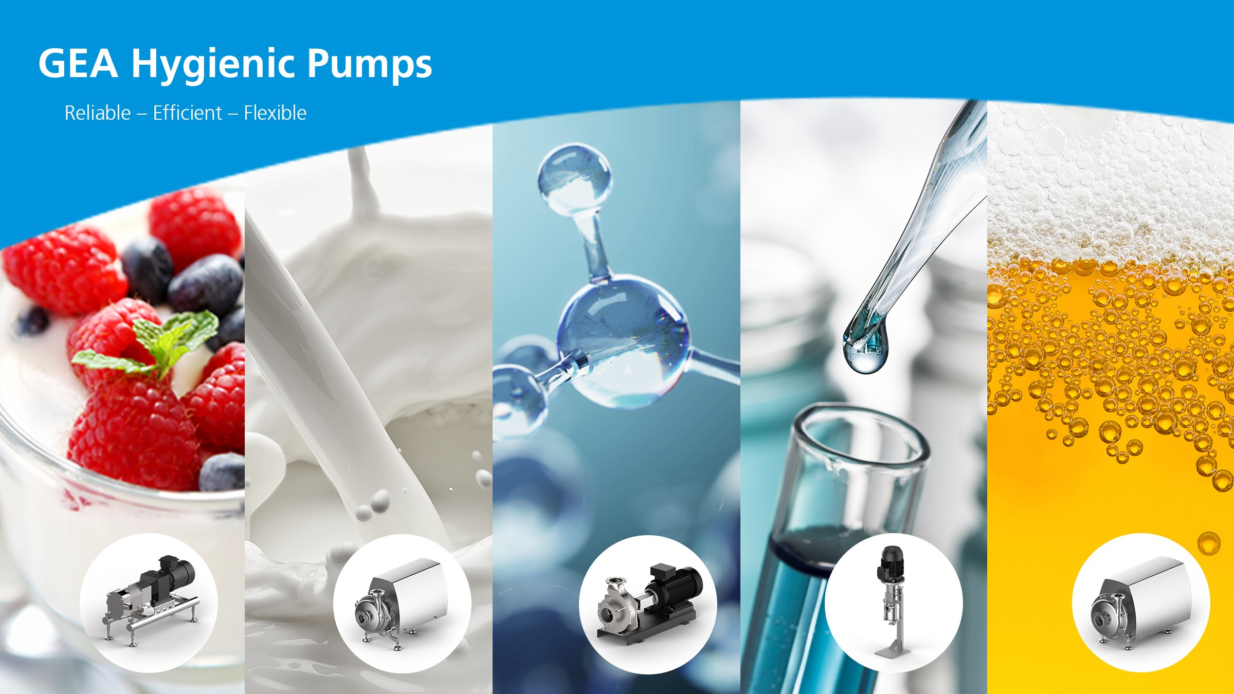 GEA Hygienic pumps food beverage pharma dairy chemicals