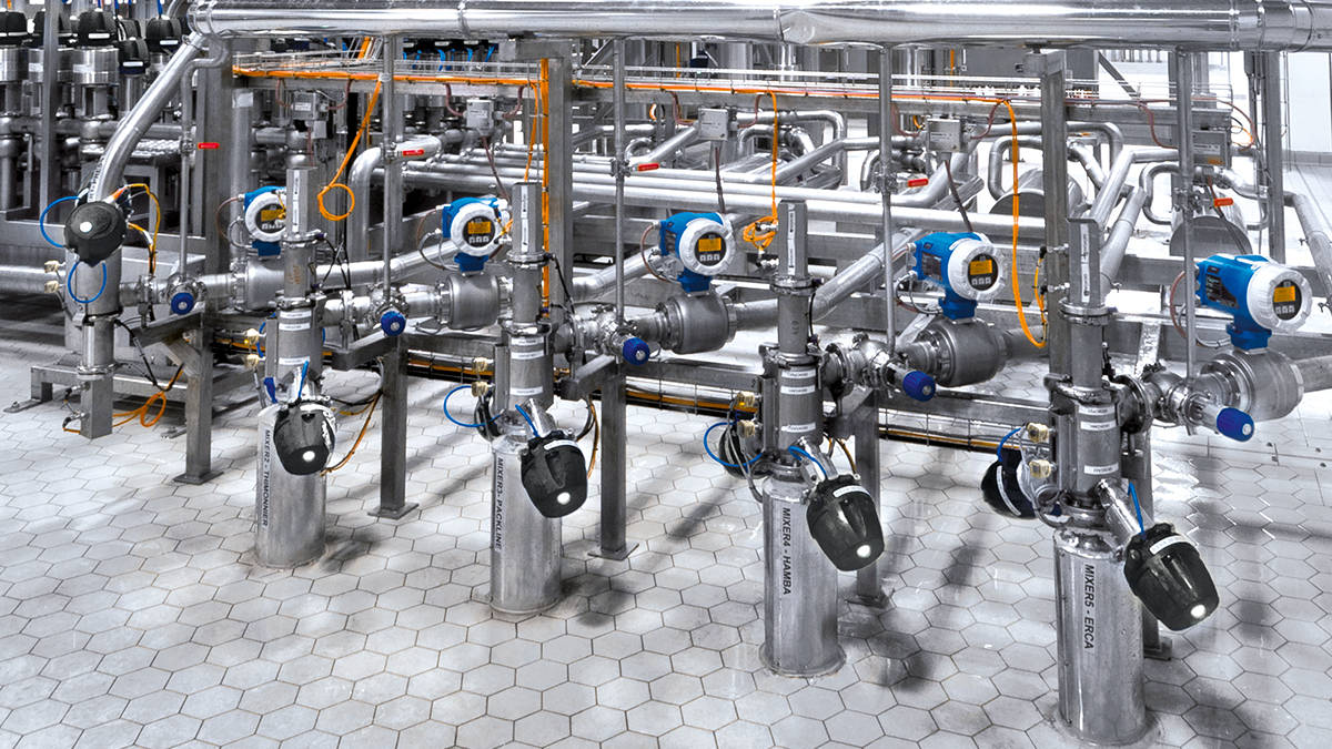 The modern GEA VARICOVER® product recovery systems allow real-time monitoring of the pig position via magnetic sensors. (Photo: GEA)