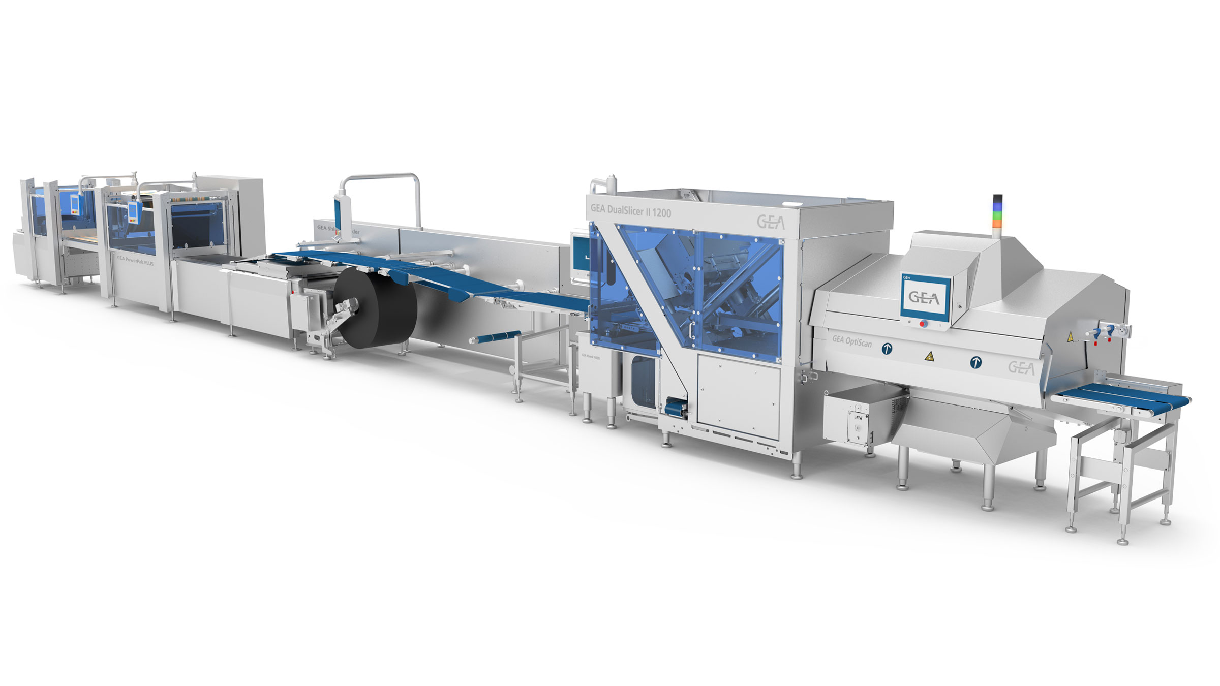 GEA Slicing and Thermoforming line with PowerPak PLUS and Jumbo roll