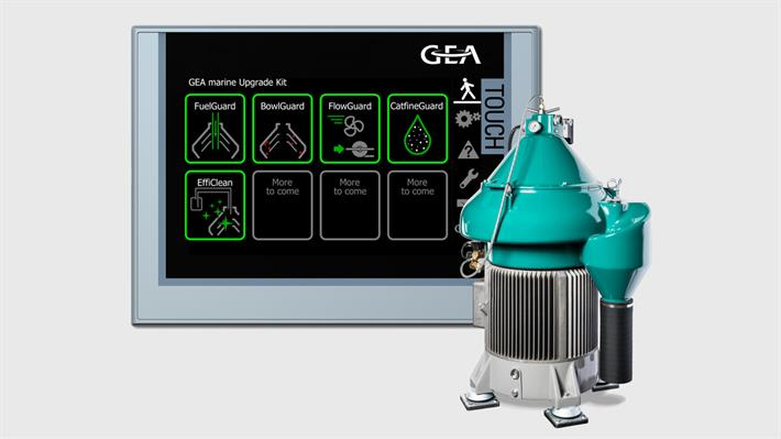 GEA marine Upgrade Kit for separators