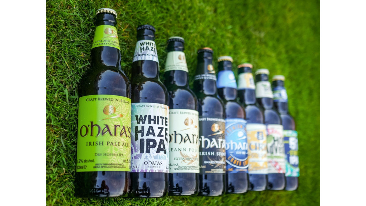 Carlow Brewing produces the award-winning O'Hara beers – in the future filled on a GEA Visitron ALL-IN-ONE with a capacity of 6,000 bottles and cans per hour. (Photo: Carlow Brewing Company)