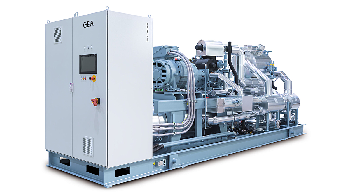 GEA RedAstrum heat pump