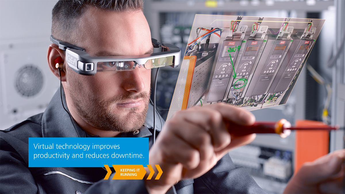 Remote Eye Wear from GEA: real-time assistance, anywhere in the world