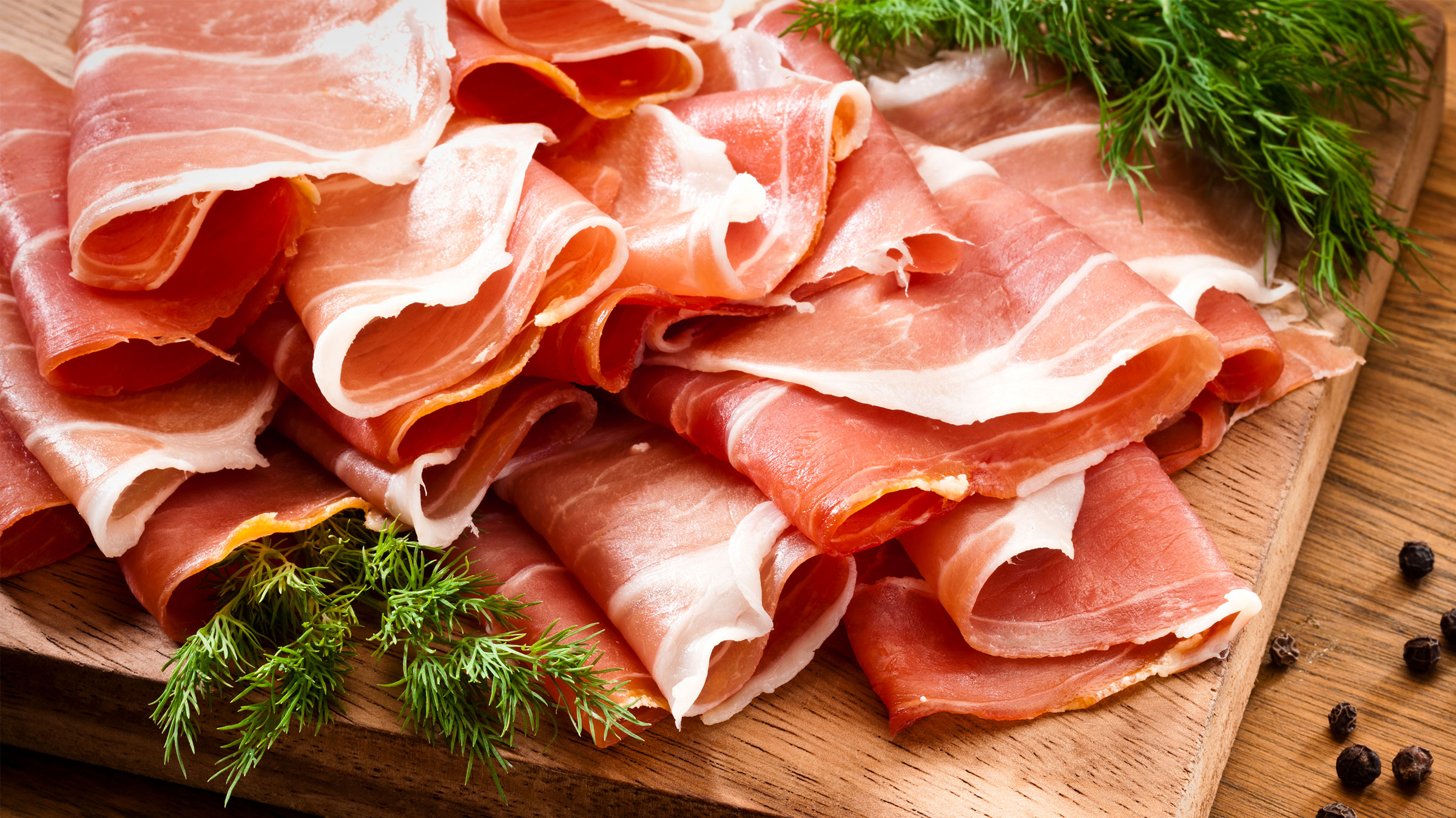 Spanish ham created with GEA Slicing & Packaging line