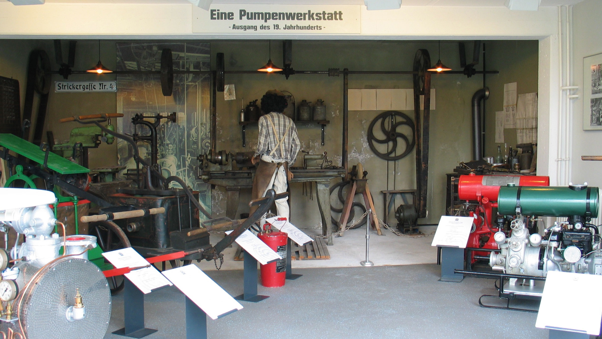 19th Century Pump Workshop