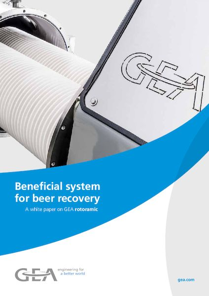 Beneficial system for beer recovery rotoramic