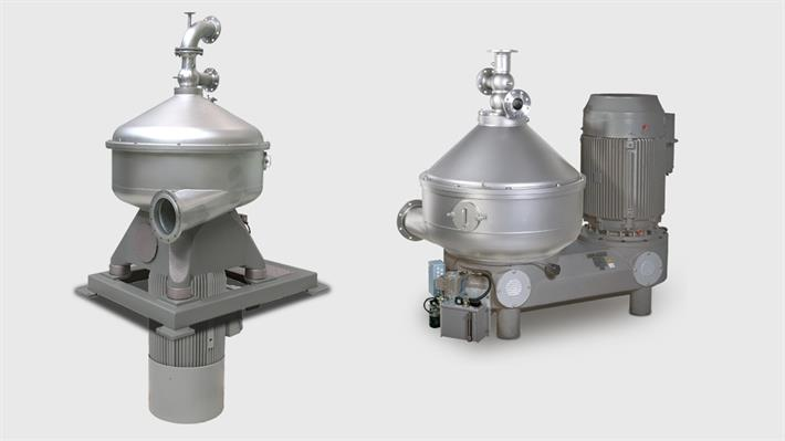 Nozzle Separators for Starch Recovery