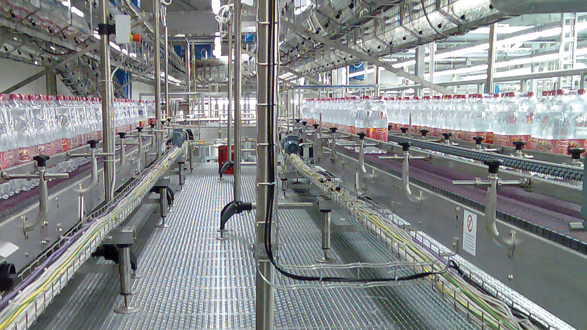 Shrink-wraps conveyors
