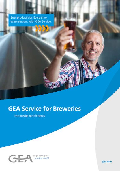 GEA Service for Breweries - Partnership for Efficiency - Brochure/EN
