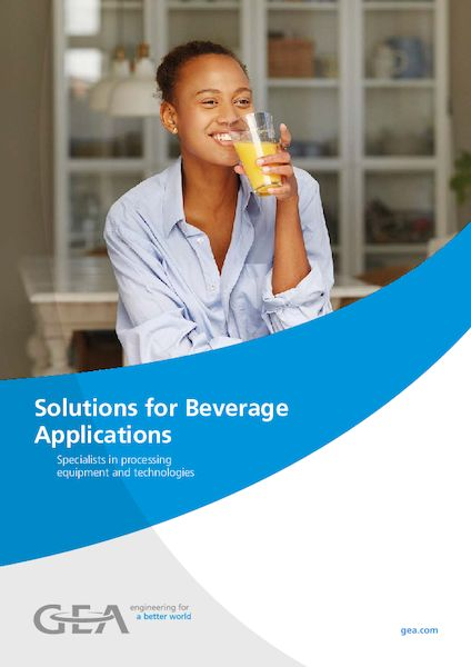 Solutions for Beverage Applications - Brochure / EN