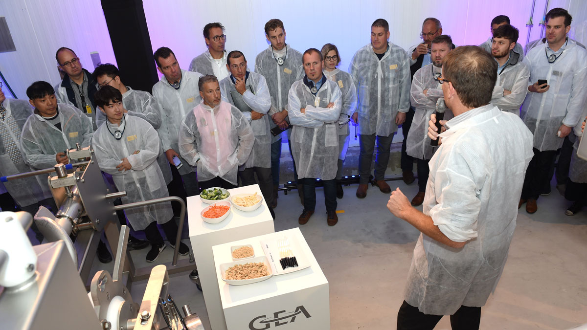 Burger - Experience tour GEA equipment