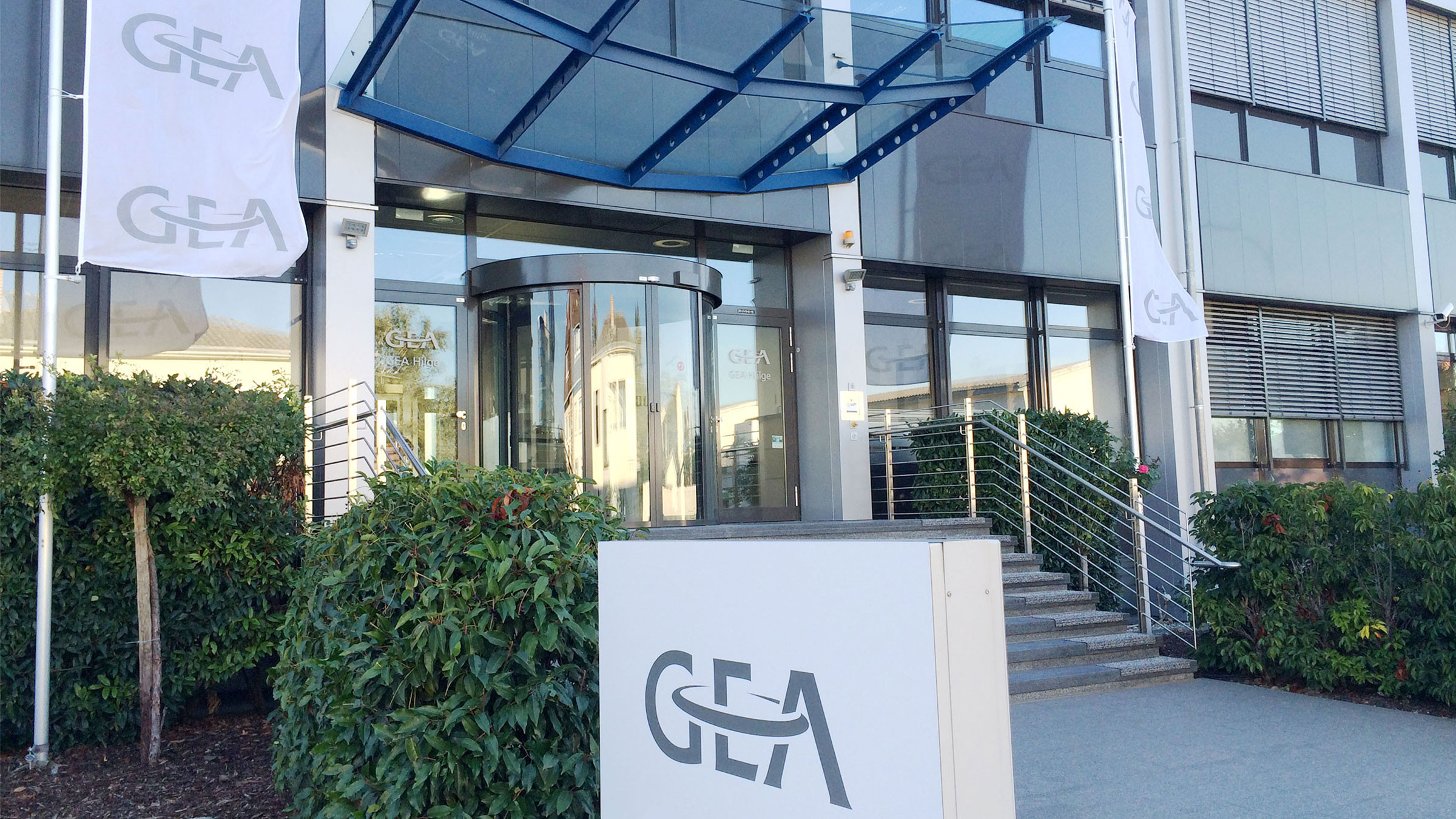 Entrance GEA Hilge Office