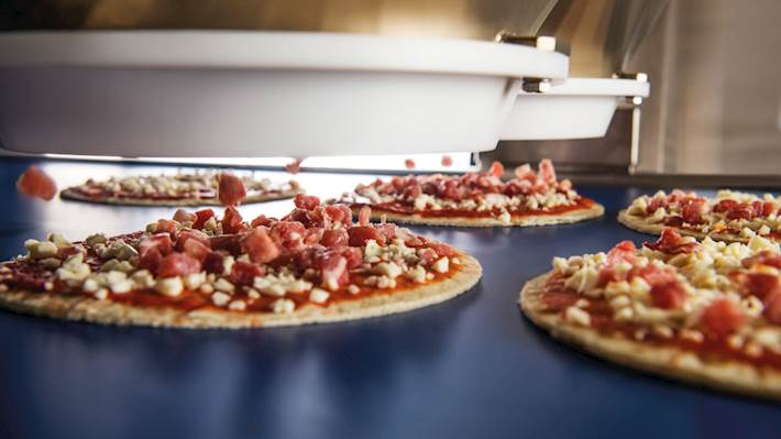 Pizza Topping System