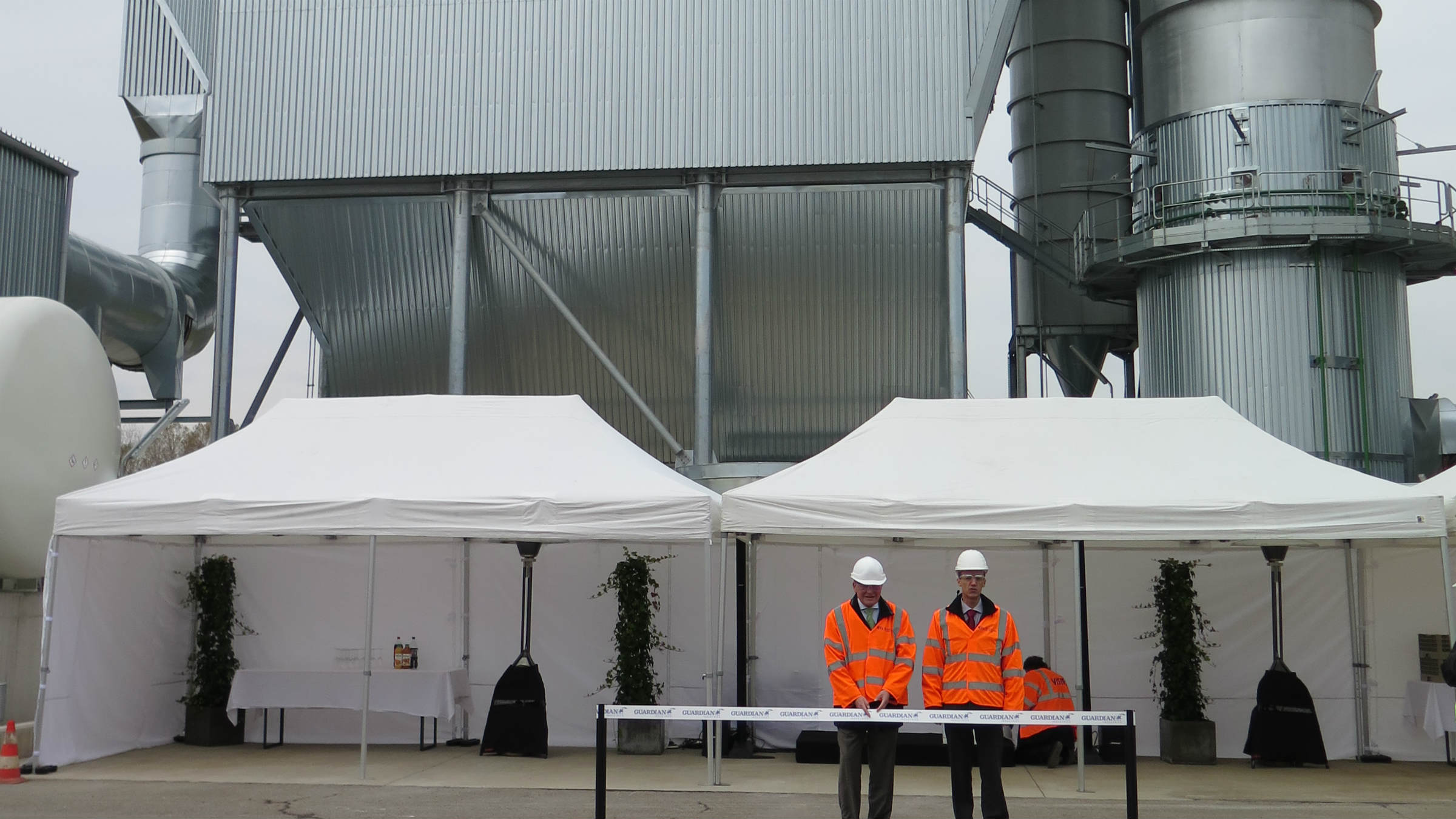 Inauguration of the new plant in Dudelange / Luxembourg. (Photo: GEA)