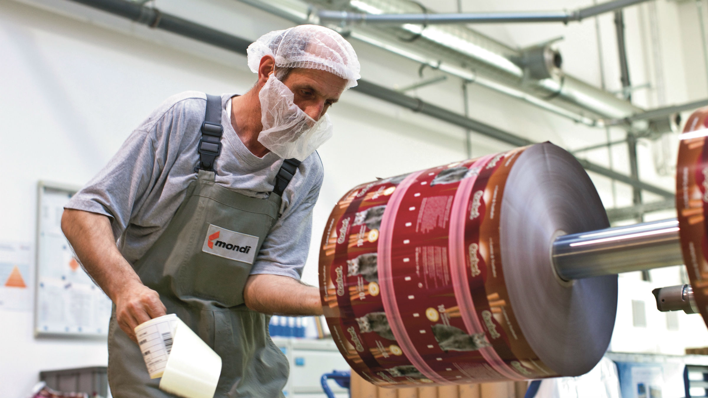 Mondi consumer goods packaging production in Austria. (Source: Mondi)