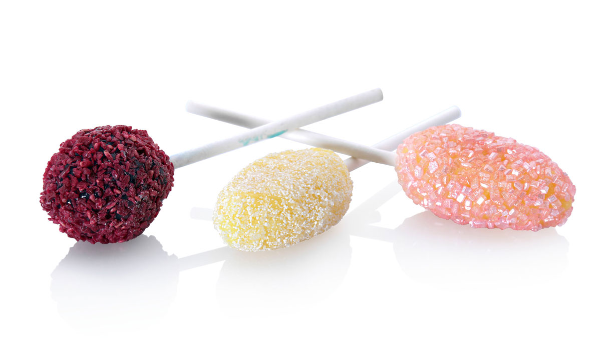 GEA Aquarius Coated Lollipops