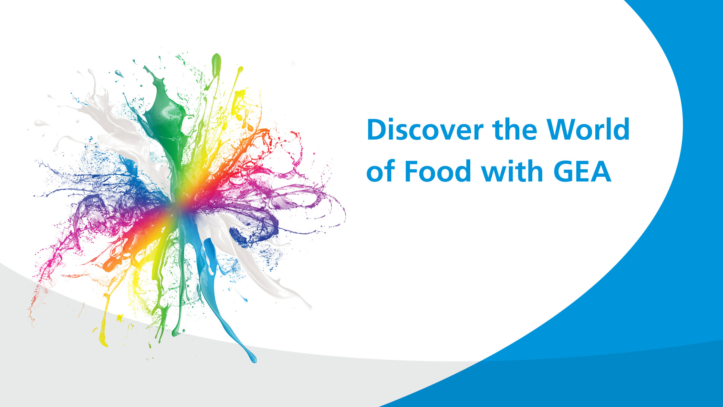Discover the world of Food with GEA @ Anuga 2018