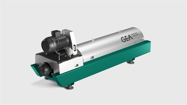 Standardized GEA environmental Decanter lines pro for Sludge Dewatering