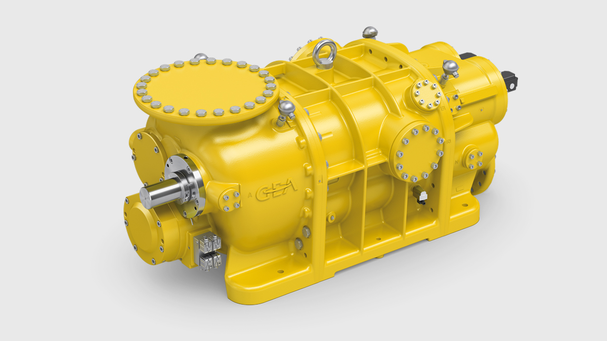 Gas compressor according to API 619