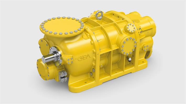 Gas Screw Compressors