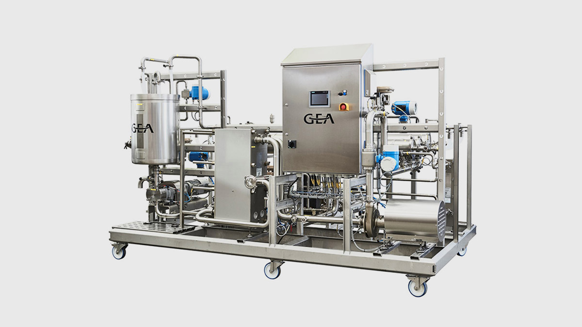 GEA microfiltration pilot unit