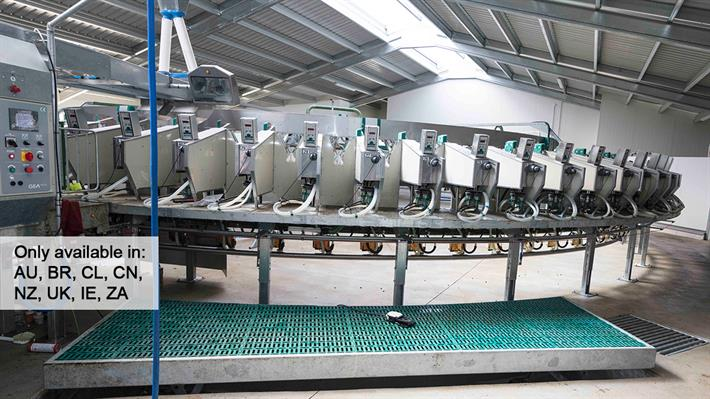 Rotary Parlour SR External for goats