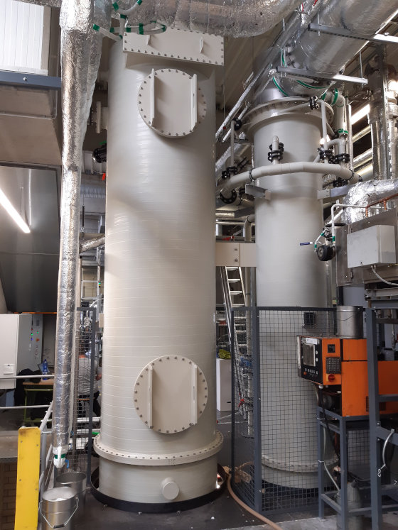 GEA supplied its customer Licharz with a new wet scrubber system. (Photo: GEA)