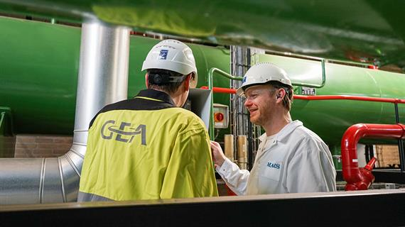 Mars reduces energy use with GEA heat pump system