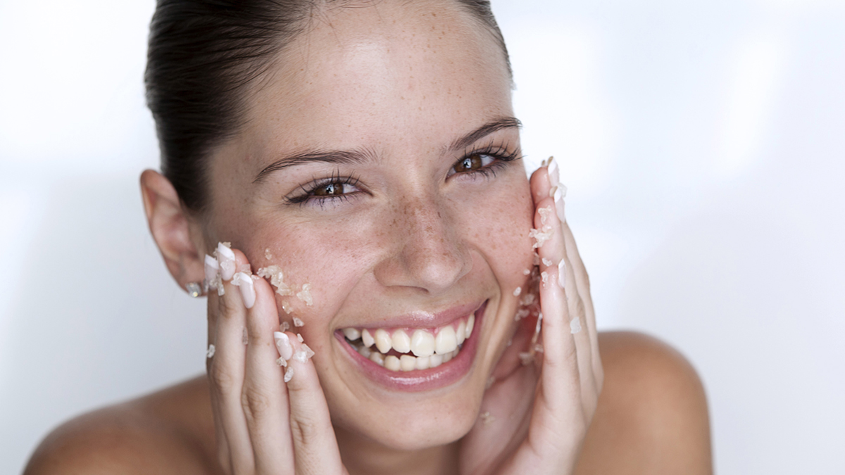 Keeping clean with natural exfoliants