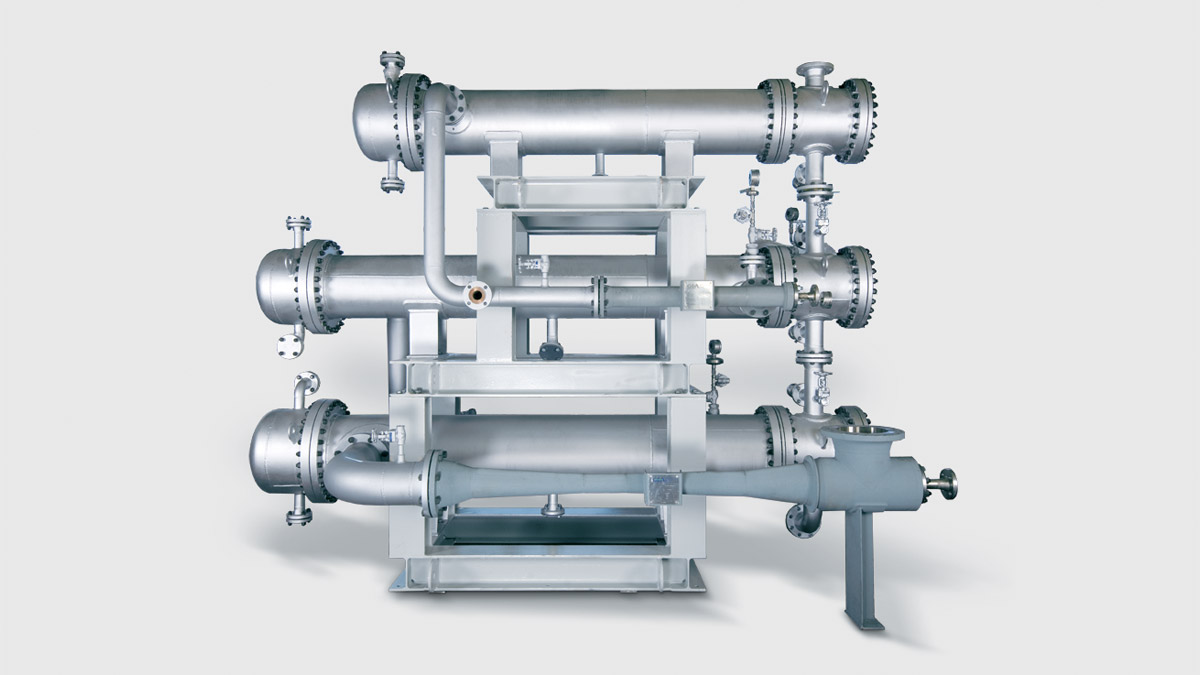 Multi-stage Vacuum Generation