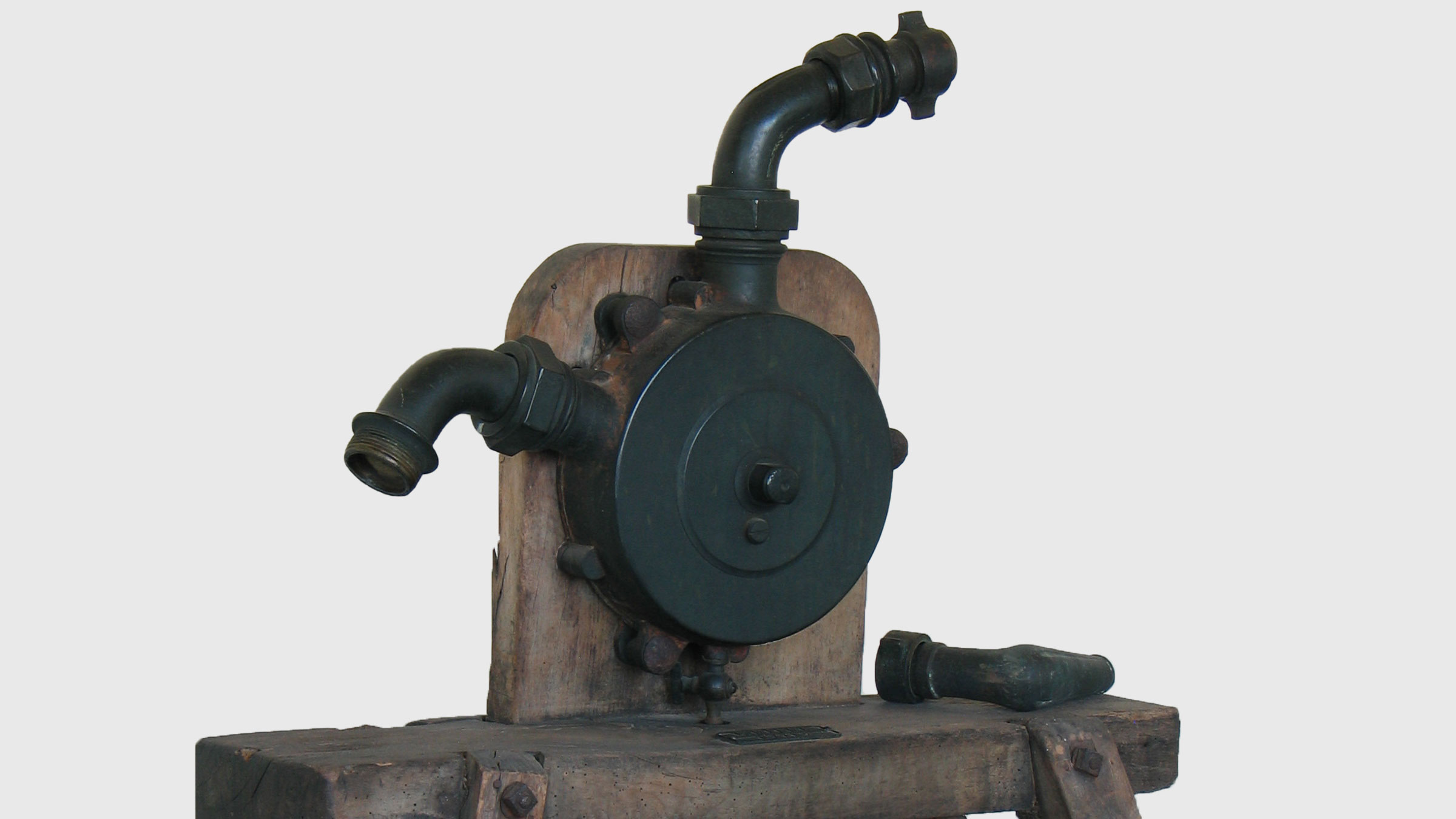 Rhenish Circular Pump from 1866 fa. Hilge