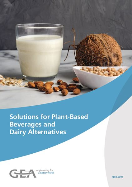 Solutions for Plant-Based Beverages and Dairy Alternatives